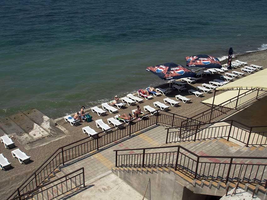 Санаторий русь анапа фото пляжа и