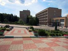 Главный вход санатория