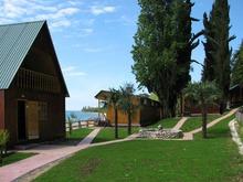 Вид курортный комплекс Камарит в Абхазии