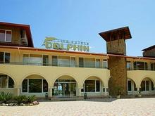 Внешний вид отеля Дельфин в Пицунде